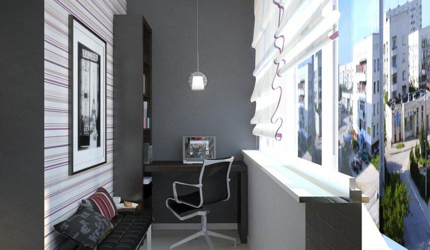Дизайн интерьера и ремонт трехкомнатной квартиры по ул. Попова 33а 64