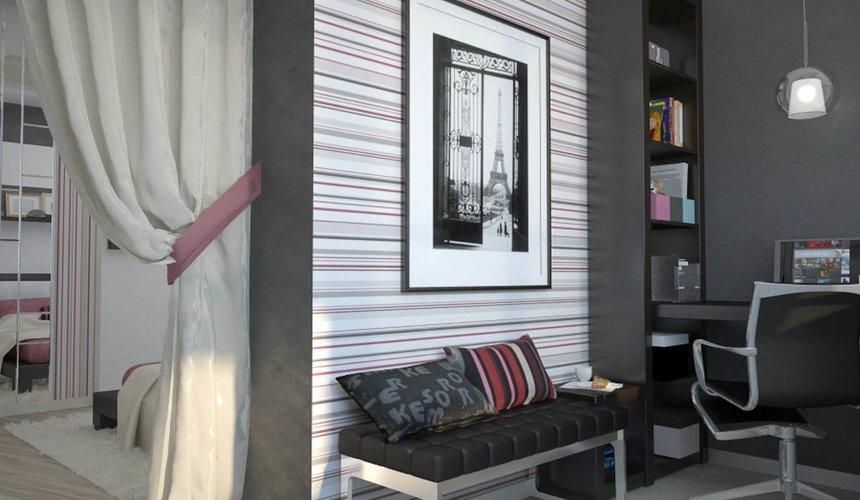 Дизайн интерьера и ремонт трехкомнатной квартиры по ул. Попова 33а 66