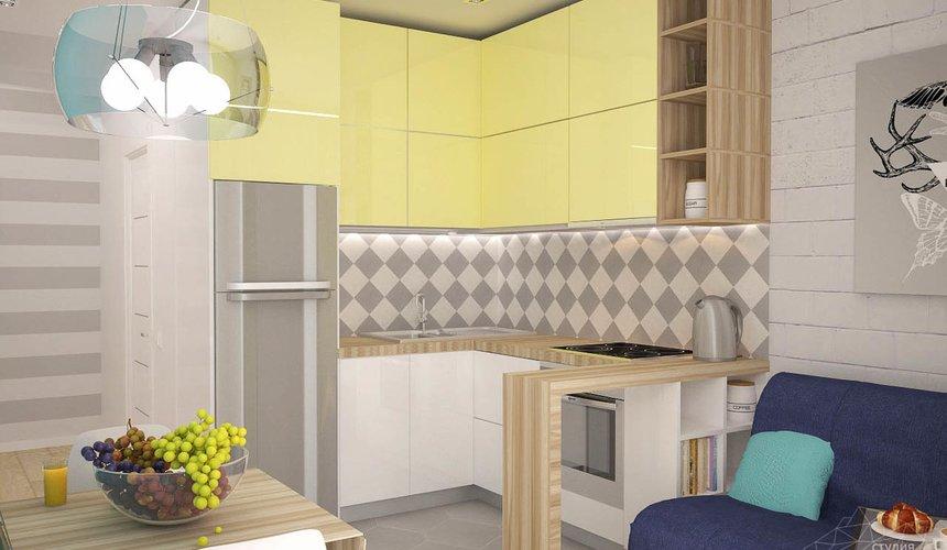 Дизайн интерьера и ремонт однокомнатной квартиры по ул. Хохрякова 43 70