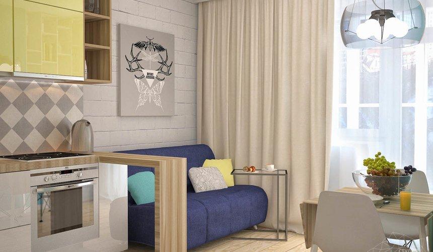 Дизайн интерьера и ремонт однокомнатной квартиры по ул. Сурикова 53а 71