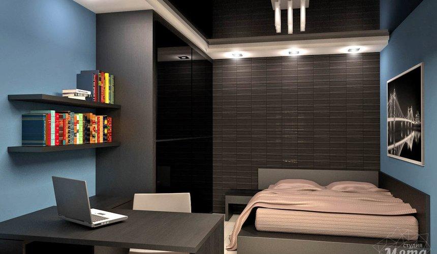 Дизайн интерьера и ремонт однокомнатной квартиры по ул. Комсомольская 45 36