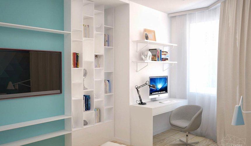 Дизайн интерьера и ремонт однокомнатной квартиры по ул. Хохрякова 43 74