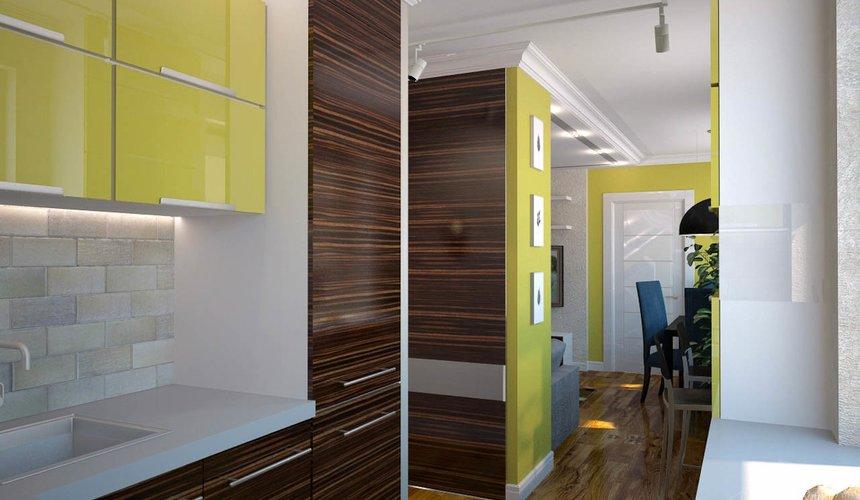 Дизайн интерьера двухкомнатной квартиры по ул. Комсомольская 14 10