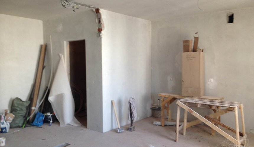 Дизайн интерьера и ремонт однокомнатной квартиры по ул. Сурикова 53а 28