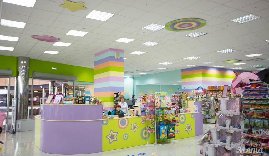 Дизайн интерьера и ремонт детского гипермаркета по ул. Щербакова 4 8