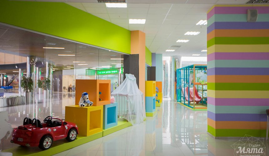 Дизайн интерьера и ремонт детского гипермаркета по ул. Щербакова 4 9