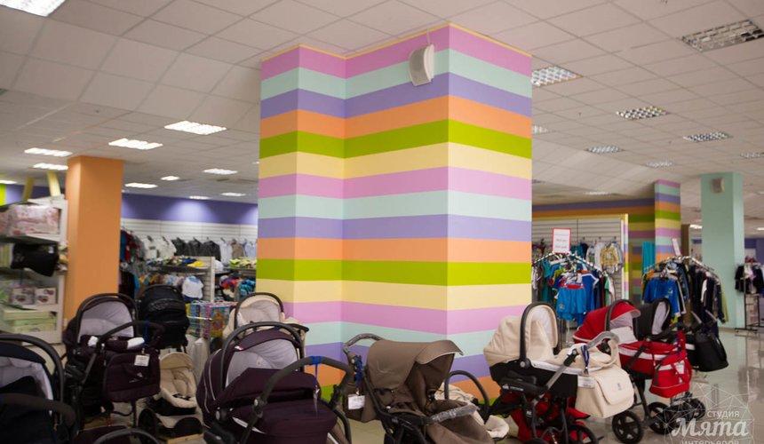 Дизайн интерьера и ремонт детского гипермаркета по ул. Щербакова 4 21