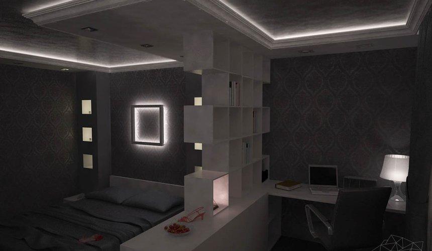 Дизайн интерьера однокомнатной квартиры по ул. Посадская 34 12