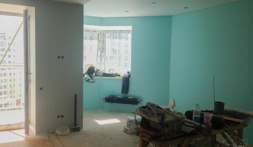 Дизайн интерьера и ремонт однокомнатной квартиры по ул. Хохрякова 43 50