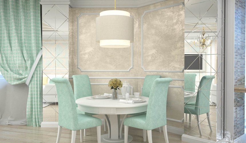 Дизайн интерьера и ремонт трехкомнатной квартиры по ул. 8 Марта 190 11