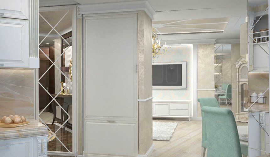Дизайн интерьера и ремонт трехкомнатной квартиры по ул. 8 Марта 190 19