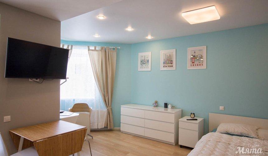 Дизайн интерьера и ремонт однокомнатной квартиры по ул. Хохрякова 43 13