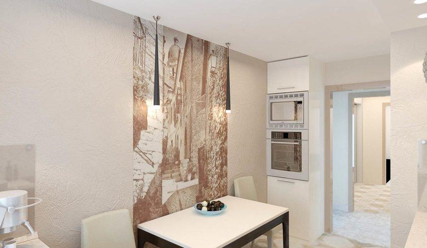 Дизайн интерьера и ремонт однокомнатной квартиры по ул. Бажова 134 28