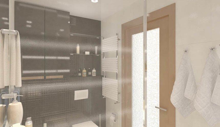 Дизайн интерьера и ремонт однокомнатной квартиры по ул. Бажова 134 32