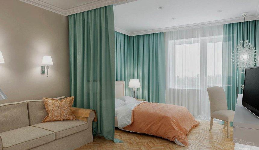 Дизайн интерьера однокомнатной квартиры по ул. Мичурина 231 8