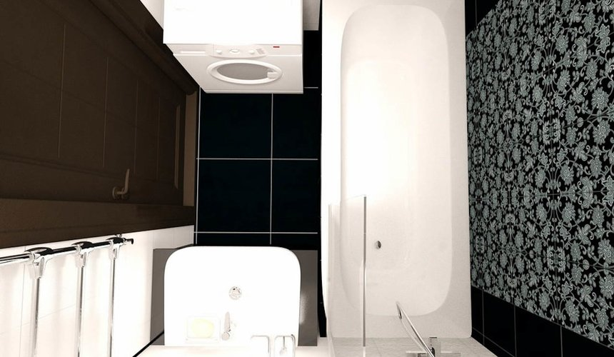 Дизайн интерьера двухкомнатной квартиры по ул. Бебеля 156 21