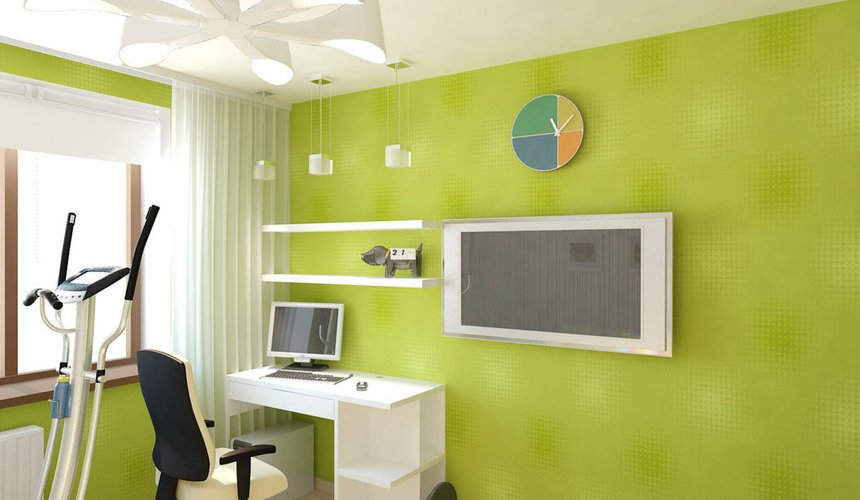 Дизайн интерьера двухкомнатной квартиры по ул. Бебеля 156 14
