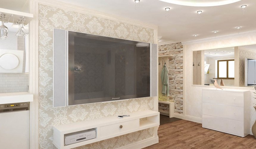 Дизайн интерьера двухкомнатной квартиры по ул. Бебеля 156 3