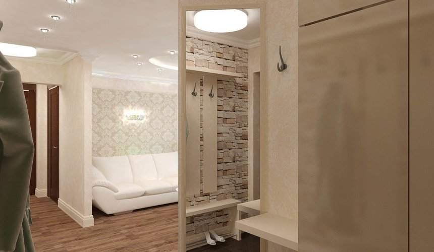 Дизайн интерьера двухкомнатной квартиры по ул. Бебеля 156 10