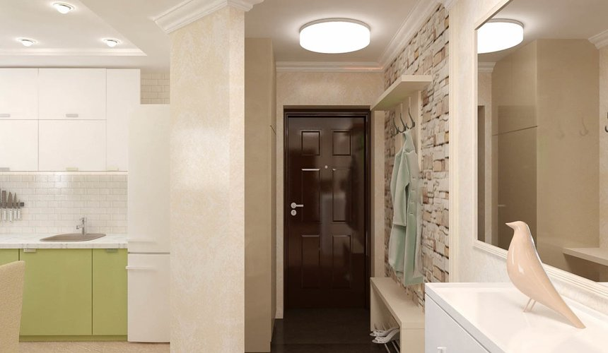 Дизайн интерьера двухкомнатной квартиры по ул. Бебеля 156 11