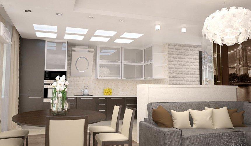 Дизайн интерьера трехкомнатной квартиры по ул. Белинского 222 5