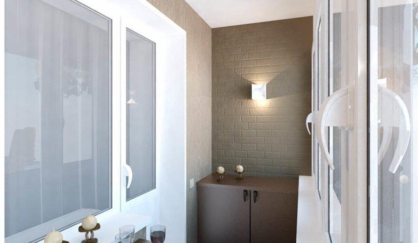 Дизайн интерьера двухкомнатной квартиры по ул. Бебеля 156 27