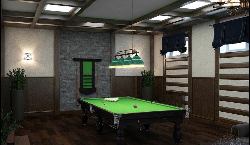 Дизайн интерьера бильярдной в п. Балтым 3