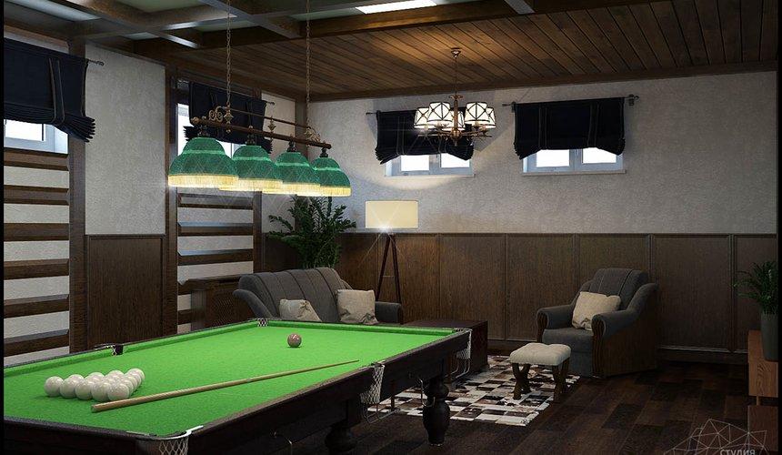 Дизайн интерьера бильярдной в п. Балтым 5