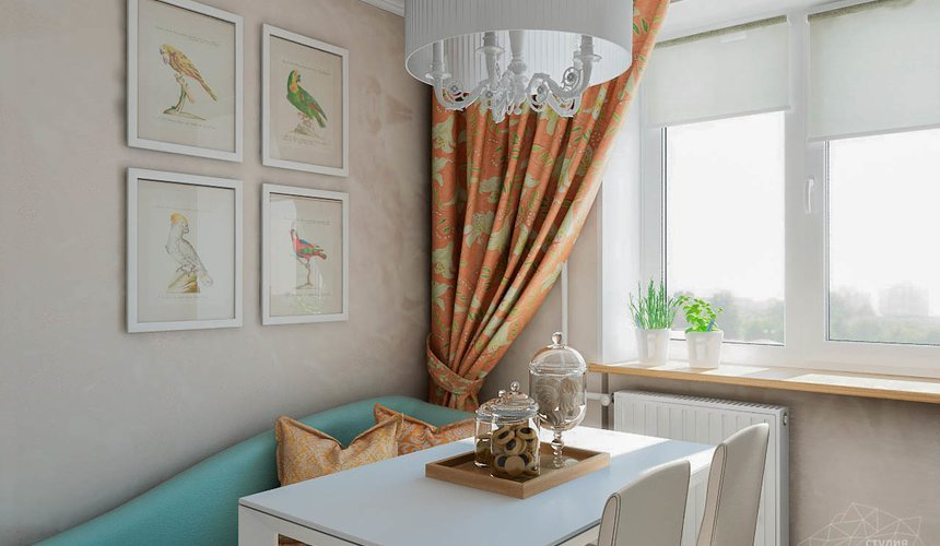 Дизайн интерьера однокомнатной квартиры по ул. Мичурина 231 4