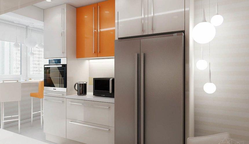 Дизайн интерьера однокомнатной квартиры в современном стиле по ул. Агрономическая 47 5