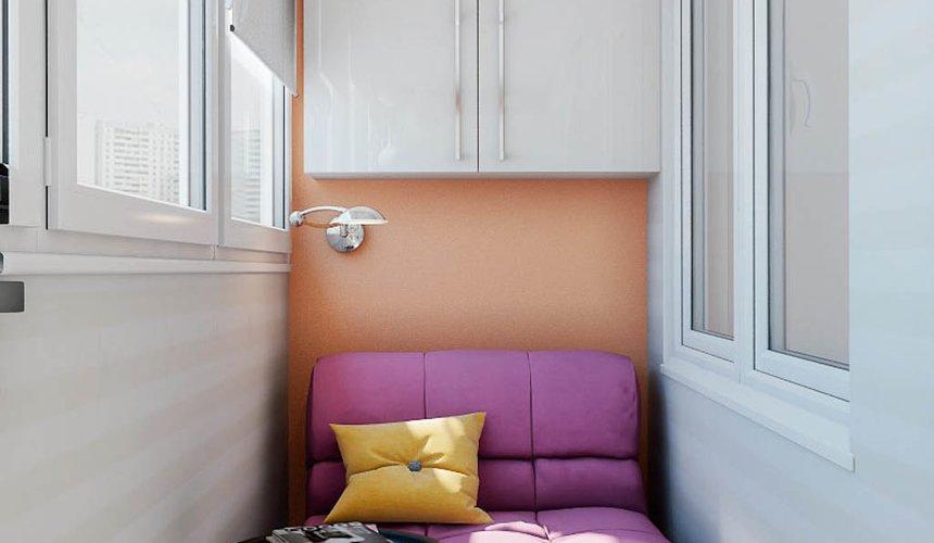 Дизайн интерьера однокомнатной квартиры в современном стиле по ул. Агрономическая 47 6