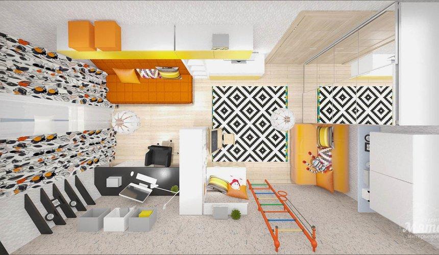 Дизайн интерьера однокомнатной квартиры в современном стиле по ул. Агрономическая 47 9