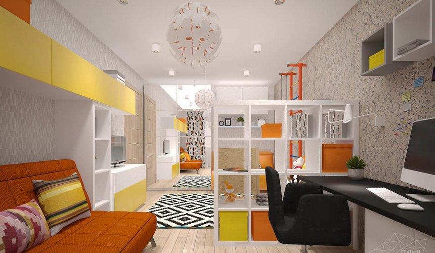 Дизайн интерьера однокомнатной квартиры в современном стиле по ул. Агрономическая 47 10