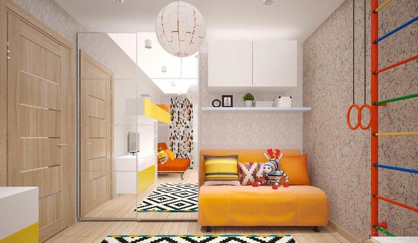 Дизайн интерьера однокомнатной квартиры в современном стиле по ул. Агрономическая 47 13