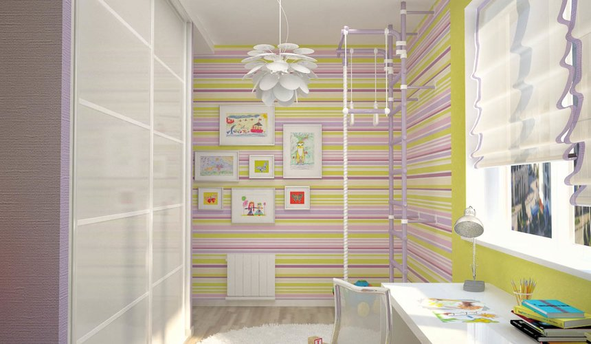 Дизайн интерьера и ремонт трехкомнатной квартиры по ул. Попова 33а 76