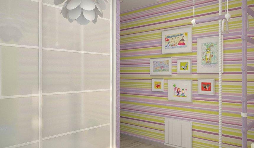Дизайн интерьера и ремонт трехкомнатной квартиры по ул. Попова 33а 78