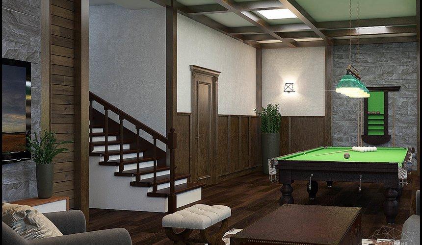 Дизайн интерьера бильярдной в п. Балтым 10