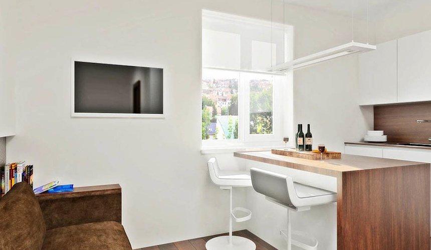 Дизайн интерьера однокомнатной квартиры в стиле хай тек по ул. Щербакова 35 9