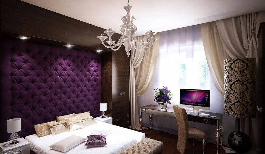 Дизайн интерьера однокомнатной квартиры в стиле арт деко по ул. Куйбышева 55 4