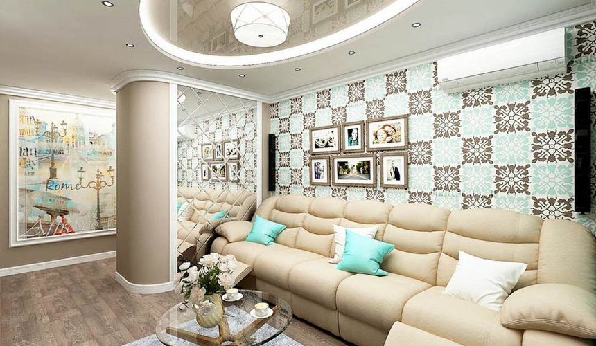 Дизайн интерьера трехкомнатной квартиры по ул. Юмашева 1 5