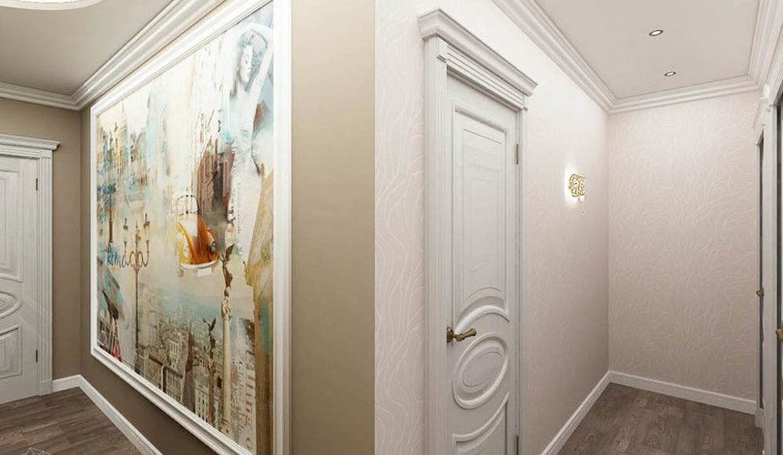 Дизайн интерьера трехкомнатной квартиры по ул. Юмашева 1 15