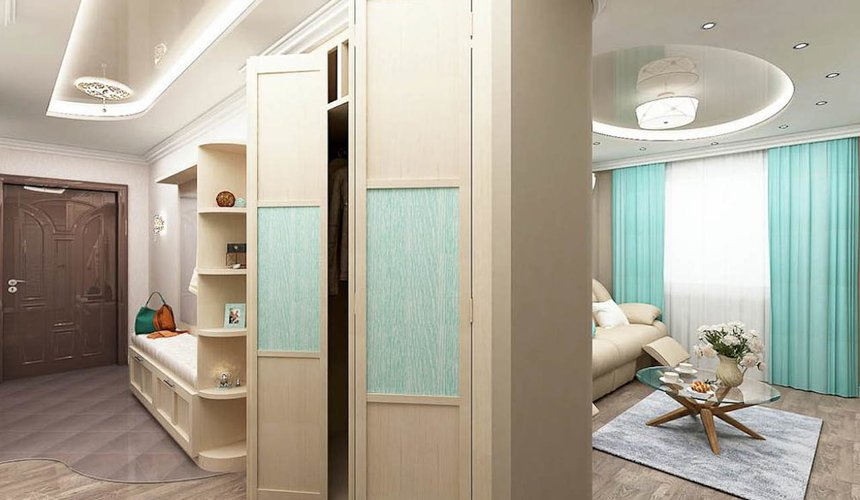 Дизайн интерьера трехкомнатной квартиры по ул. Юмашева 1 17