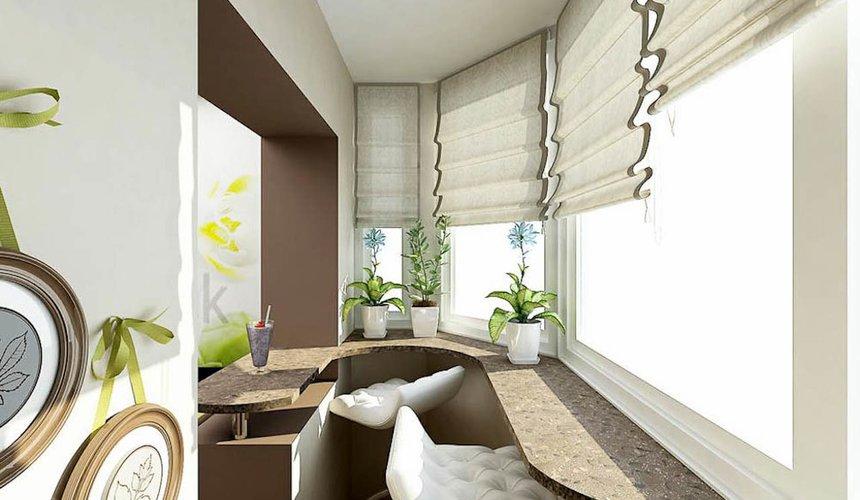 Дизайн интерьера трехкомнатной квартиры по ул. Юмашева 1 25