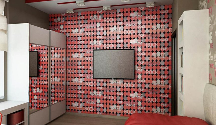 Дизайн интерьера трехкомнатной квартиры по ул. Николая Никонова 4 5