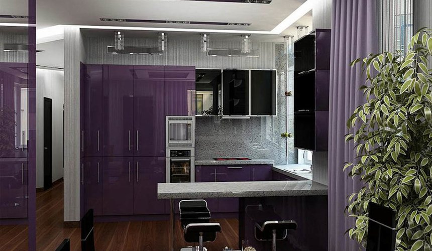 Дизайн интерьера трехкомнатной квартиры по ул. Николая Никонова 4 9