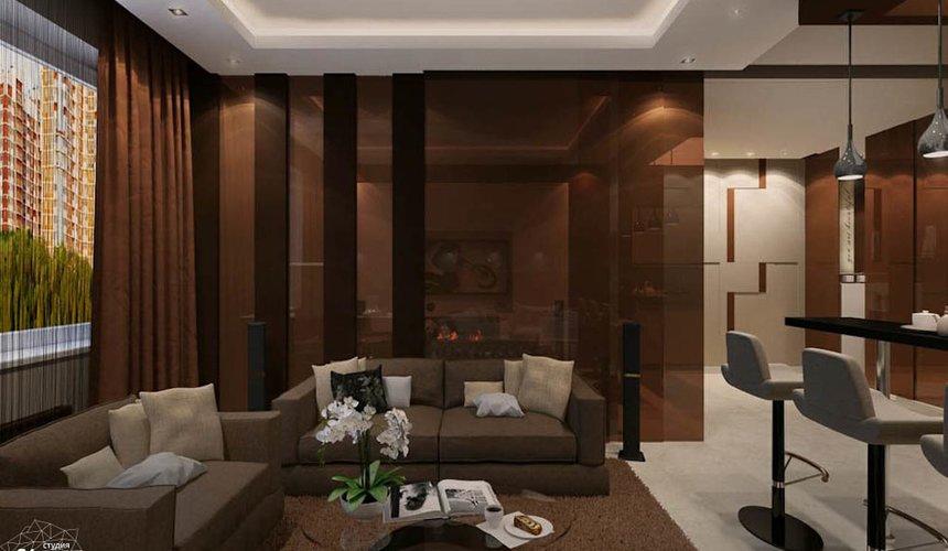 Дизайн интерьера однокомнатной квартиры по ул. Громова 30 4
