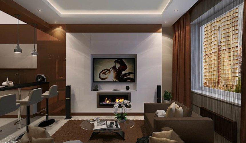 Дизайн интерьера однокомнатной квартиры по ул. Громова 30 5