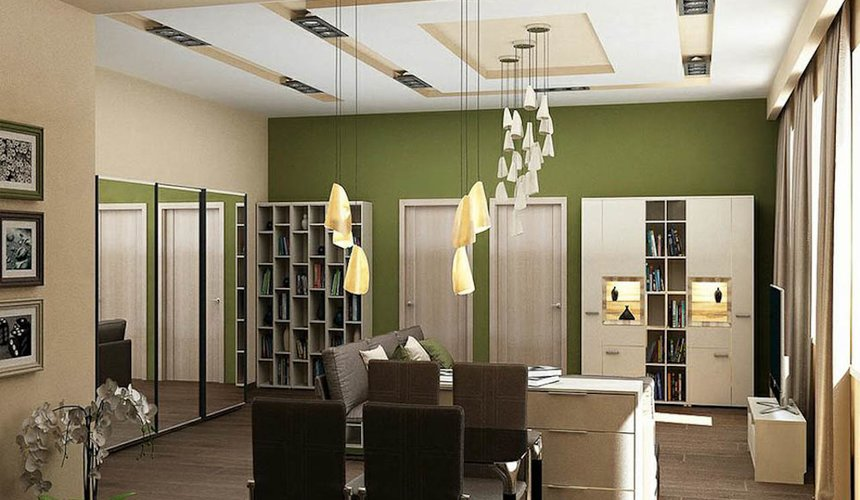 Дизайн интерьера трехкомнатной квартиры по ул. Грибоедова 26 7