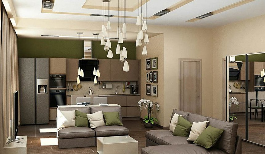 Дизайн интерьера трехкомнатной квартиры по ул. Грибоедова 26 8