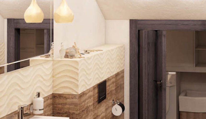 Дизайн интерьера коттеджа в п. Новый Исток 39